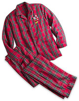 Disney Mickey Mouse Plaid Pajama Set for Men - Personalizable