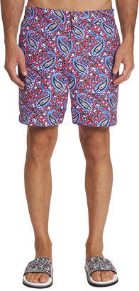 Homemen Boys Trunks Swimwear,Paisley Fantasy/_1812