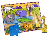 Melissa & Doug Kids Toy, Safari Chunky Puzzle