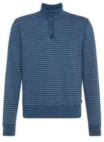 Hugo Boss Siegal Cotton Troyer Sweatshirt L Blue