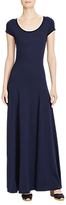 Lauren Ralph Lauren Jersey Scoopneck Maxi Dress, True Indigo
