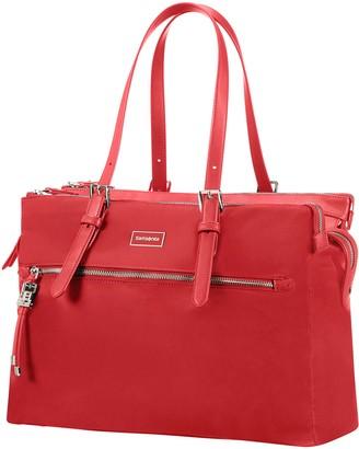 Samsonite Organised Shopping 14.1 Inches (Formula Red) Karissa Biz Hand Luggage 47 cm