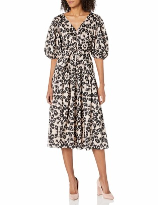 Rebecca Taylor Women's Short Sleeve Kaleidoscope Dress