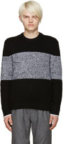 Rag & Bone Black Roscoe Sweater
