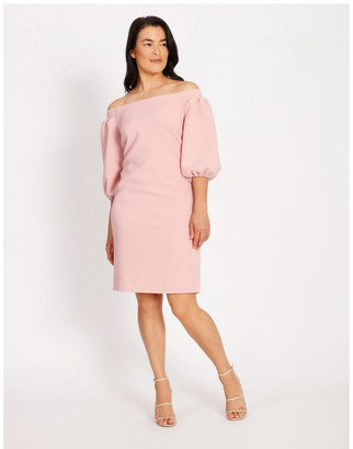 Collection Balloon Off The Shoulder Dress