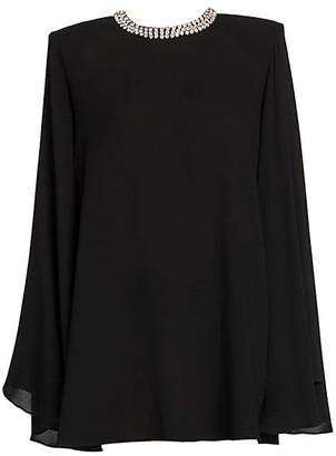 Stella McCartney Embellished Babydoll Dress