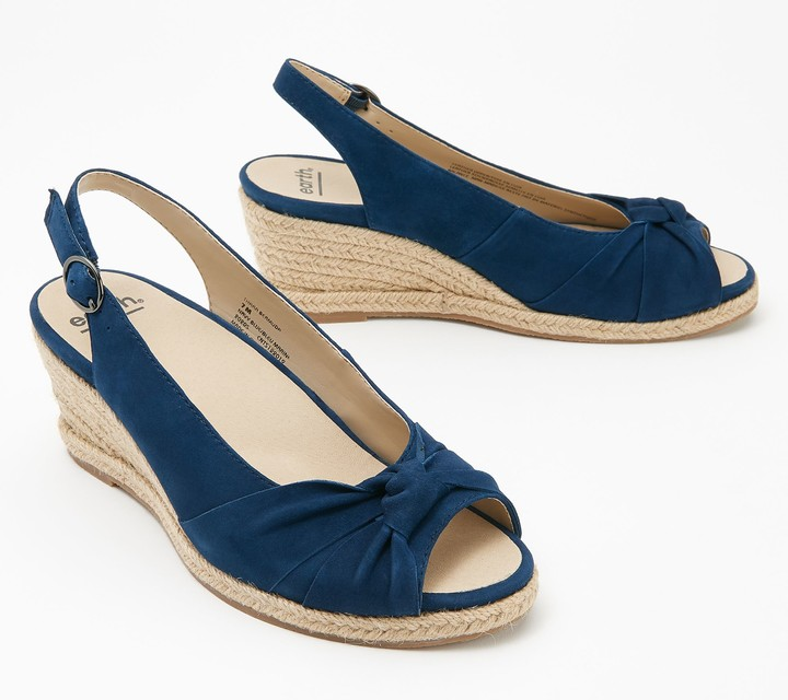 Navy Blue Wedges | Shop the world's