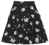 Nina Ricci Printed Cotton Skirt
