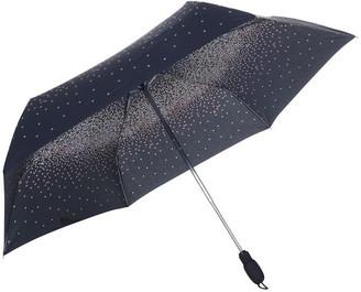 Fulton Open & Close Superslim Pansy Fall Umbrella
