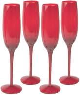 Artland 4-pc. Midnight Rouge Champagne Flute Set