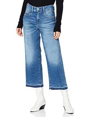 Herrlicher Women's Gila Sailor Cropped Kaschmir Denim Slim Jeans,10 (Size: )