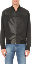 Mcq Alexander Mcqueen Leather Pattern Shell Bomber Jacket