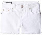 True Religion Joey Shorts in White Girl's Shorts