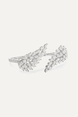 Messika Angel 18-karat White Gold Diamond Ring - 53