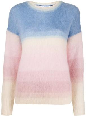 Etoile Isabel Marant knitted colour-block jumper