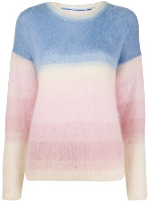 Etoile Isabel Marant Knitted Colour-Block Jumper