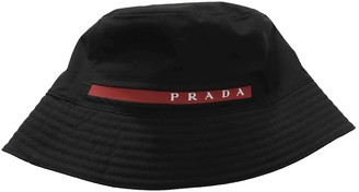 Prada Black Cloth Hats