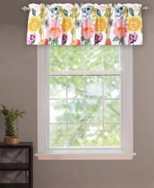 Greenland Home Fashions Watercolor Dream Window Valance