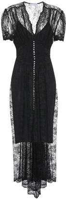 Paco Rabanne Crystal-embellished lace dress