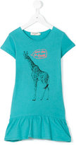 Nice Things giraffe print dress - kids - Cotton - 4 yrs