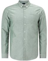 Scotch & Soda Long Sleeve Oxford Shirt, Racing Green