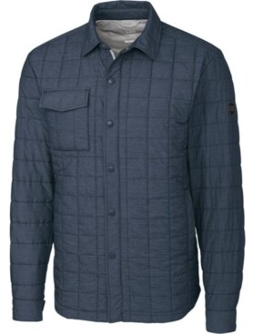 Cutter & Buck Men's Big & Tall Rainier Shirt Jacket