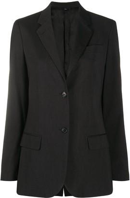 Helmut Lang Pre Owned Slim-Fit Blazer Jacket