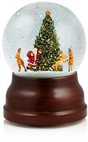 Bloomingdale's Santa and Reindeer Musical Snowglobe