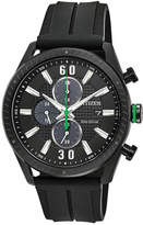 Citizen Drive from Eco-Drive Men's Chronograph Black Polyurethane Strap Watch 43mm
