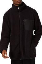 Topman Plush Fleece Jacket