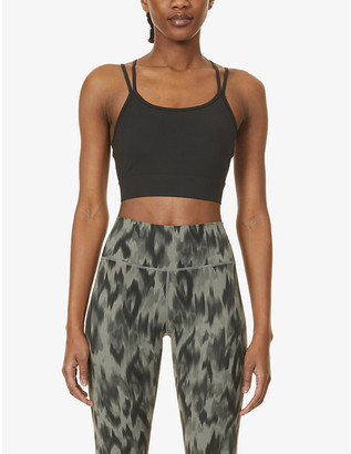 Varley Frances stretch-jersey sports bra