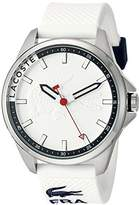 Lacoste Men's 2010841 Capbreton Analog Display Japanese Quartz White Watch