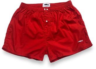 Fleet London Men's Red Boxer Short