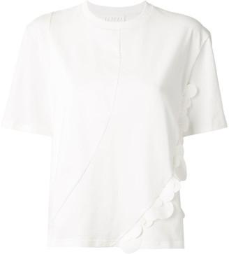 PASKAL clothes circled embellished T-shirt