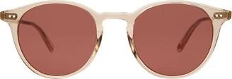 Garrett Leight Clune Sun Nude Rosewood Sunglasses