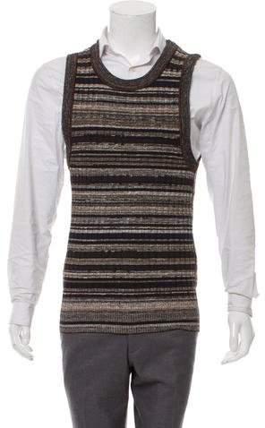 Dolce & Gabbana Striped Knit Vest