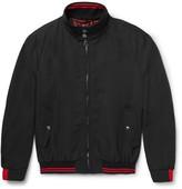 Lanvin Contrast-Trimmed Wool-Blend Bomber Jacket