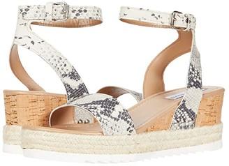 Steve Madden Jewell Wedge Sandal (Snake) Women's Shoes