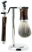 Bey-Berk Fusion Razor & Pure Badger Brush Shaving Set