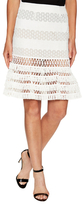 Jonathan Simkhai Mechanical Fit And Flare Skirt