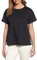 Eileen Fisher Women's Stretch Organic Cotton Top