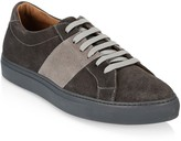 Saks Fifth Avenue Mixed Media Suede Sneakers