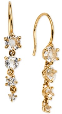 AVA NADRI Crystal Graduated Drop Earrings