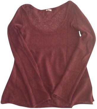 Miu Miu Burgundy Wool Knitwear for Women Vintage