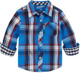 Arizona Long-Sleeve Woven Cotton Shirt - Baby Boys 3m-24m