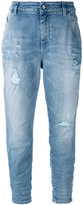 Diesel cropped jeans - women - Cotton/Spandex/Elastane - 25/32
