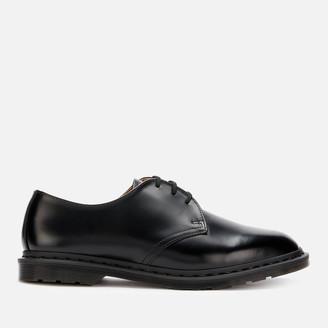 Dr. Martens Men's Archie II Polished Smooth Leather Derby Shoes - Black