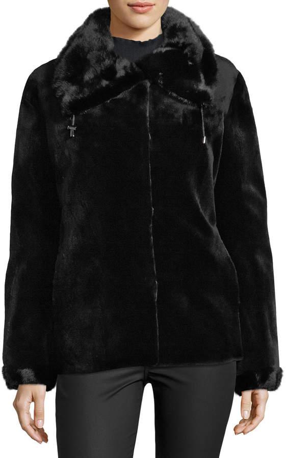 Gorski Reversible Sheared Mink Fur Jacket