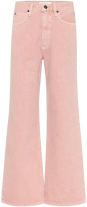 SLVRLAKE Grace high-rise wide-leg jeans