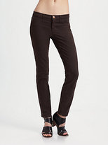 J Brand Low-Rise Luxe Twill Pants
